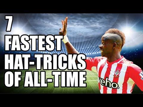 7 Fastest Hat-Tricks In Football History