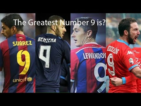 10 of the Greatest Number 9's in Football/ Soccer