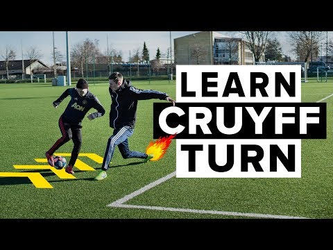HOW TO DO THE CRUYFF TURN | Learn this simple but deadly football skill