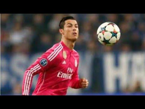 Cristiano Ronaldo's Shoulder pass