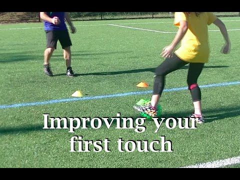 Soccer First Touch Practice
