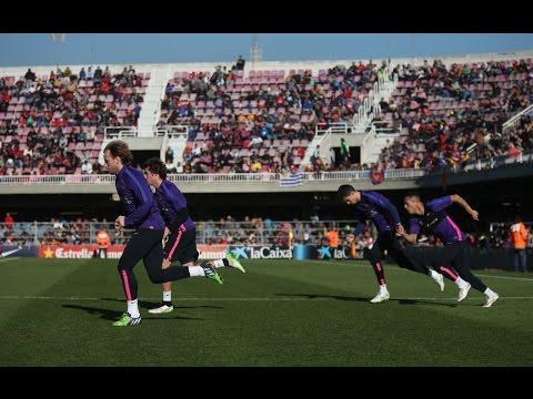 FC Barcelona - Open doors training session [FULL VIDEO]