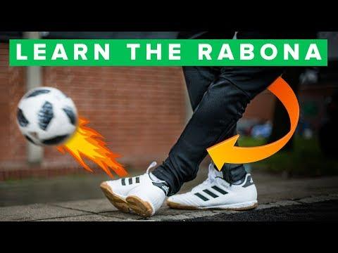 LEARN HOW TO RABONA | Learn Basic Football Skills
