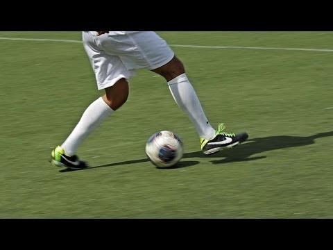 How to Do a Stepover aka Scissor | Soccer Skills