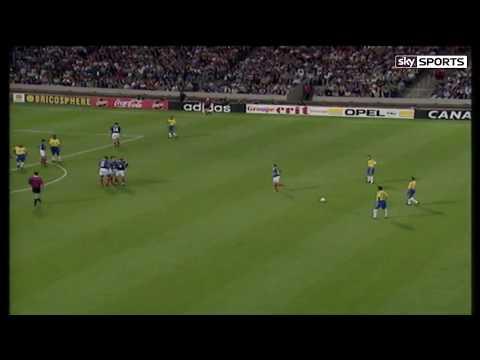 Roberto Carlos Incredible Free Kick (France 1997) (Sky Sports English Commentary) [HD]