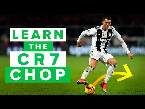 LEARN THE CR7 CHOP | How to pull of this effective football skill