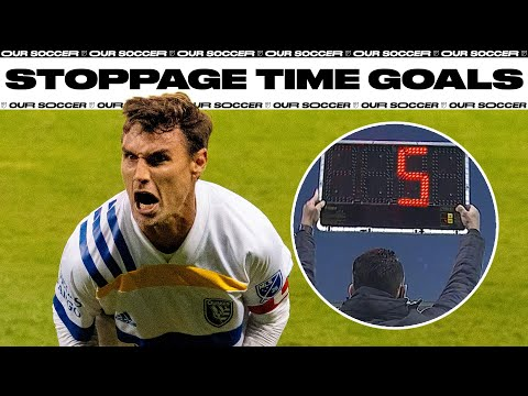 Dramatic Stoppage Time Goals in 2020