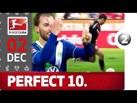 Top 10 Perfect Hat-Tricks - Chicharito, Pizarro & More - Bundesliga 2016 Advent Calendar 2