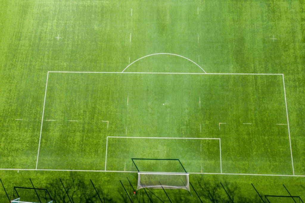soccer field penalty area