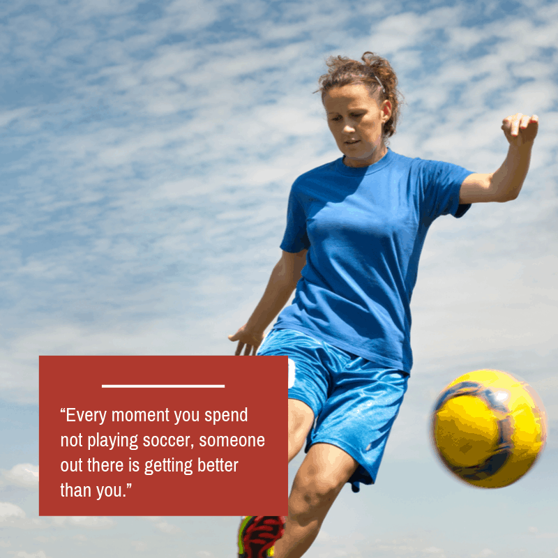 soccer quote about improvement