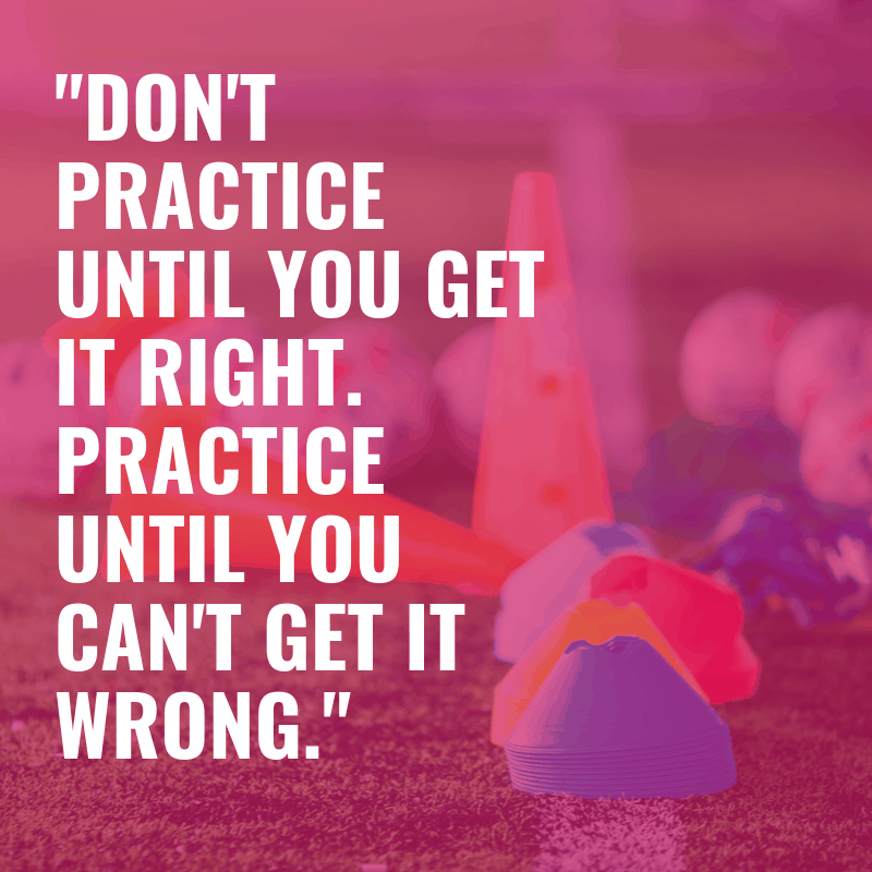 quote about practice