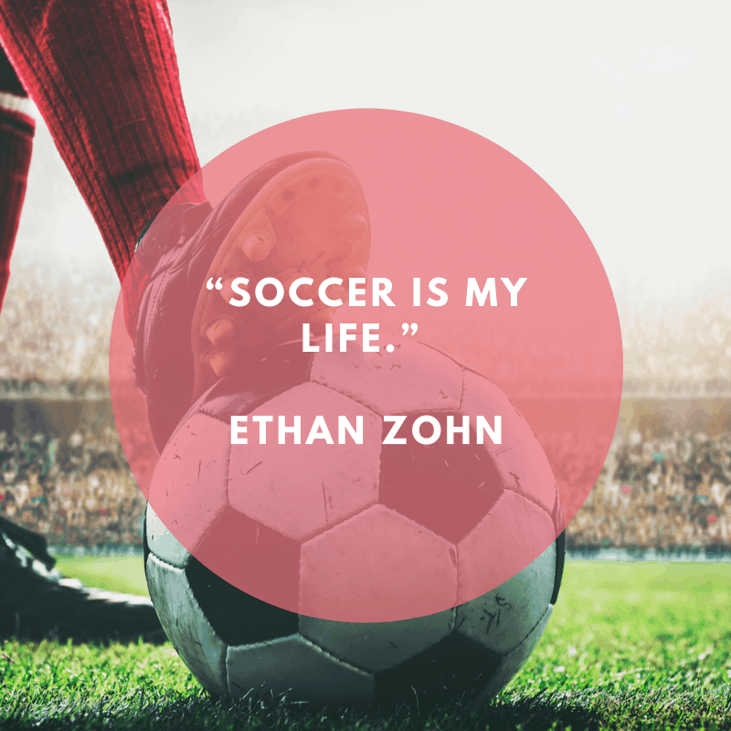 quote about soccer being life