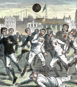 19th century soccer game