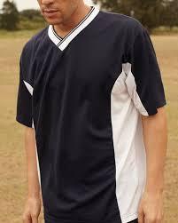 man in soccer jersey