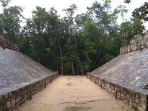 Ancient Mayan Pok a Tok court