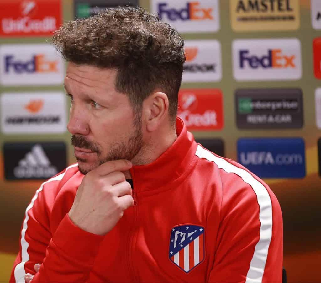 soccer coach Diego Simeone