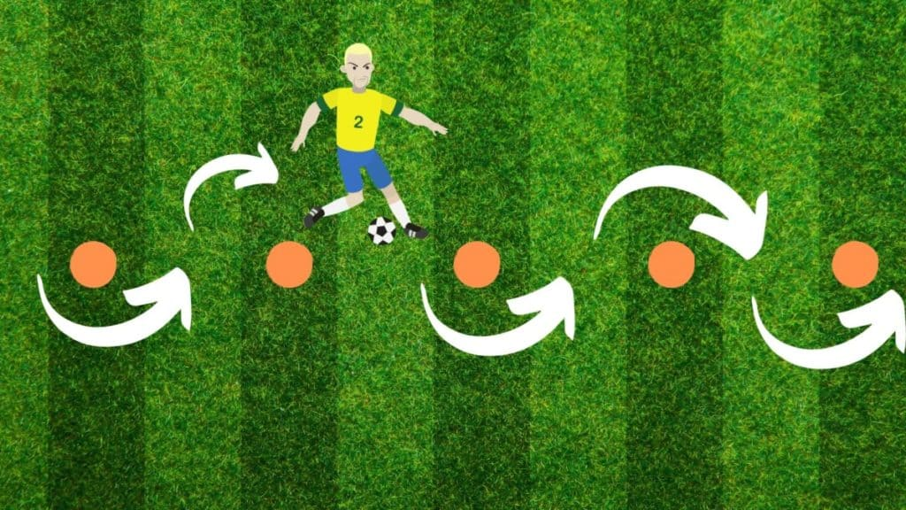 illustration of the dribbling drill