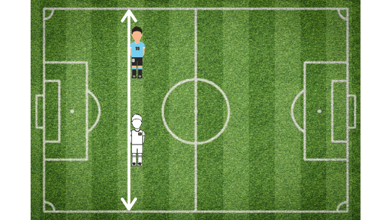 example of player level with defender