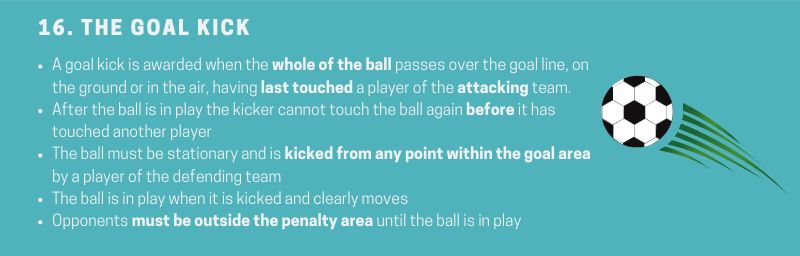 Soccer-Rule-16-The-goal-kick