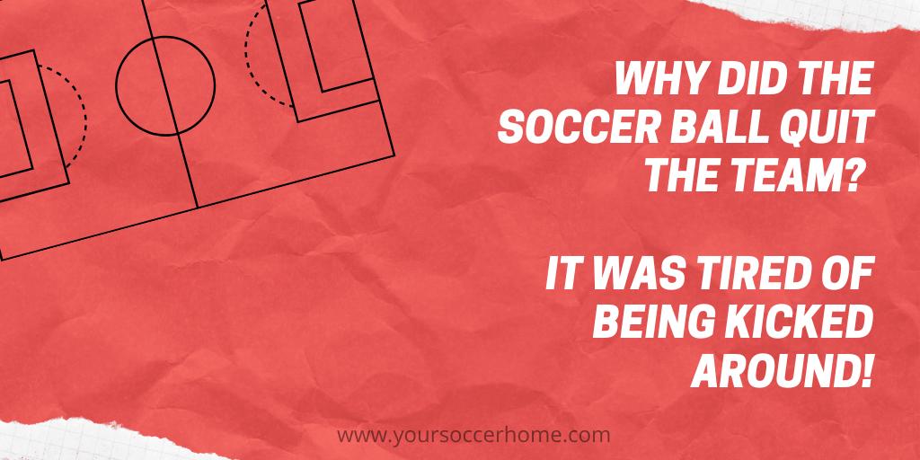 kick soccer joke