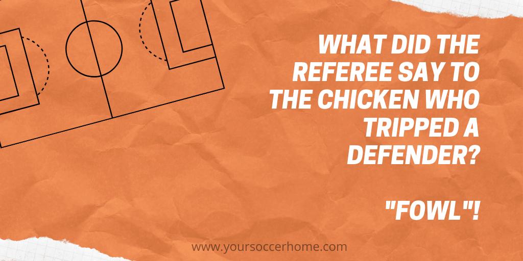 chicken soccer joke