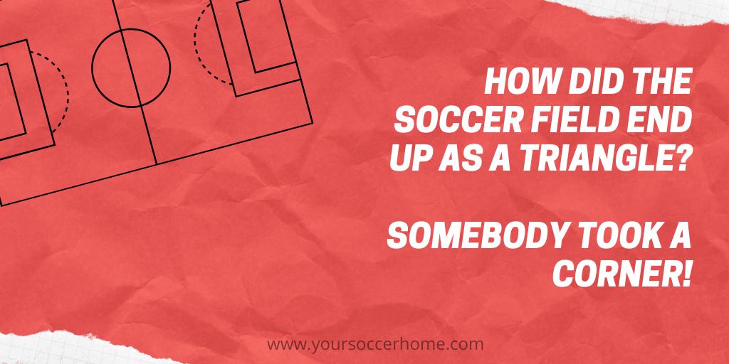 triangle soccer joke
