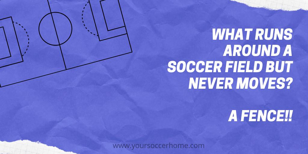 soccer field soccer joke