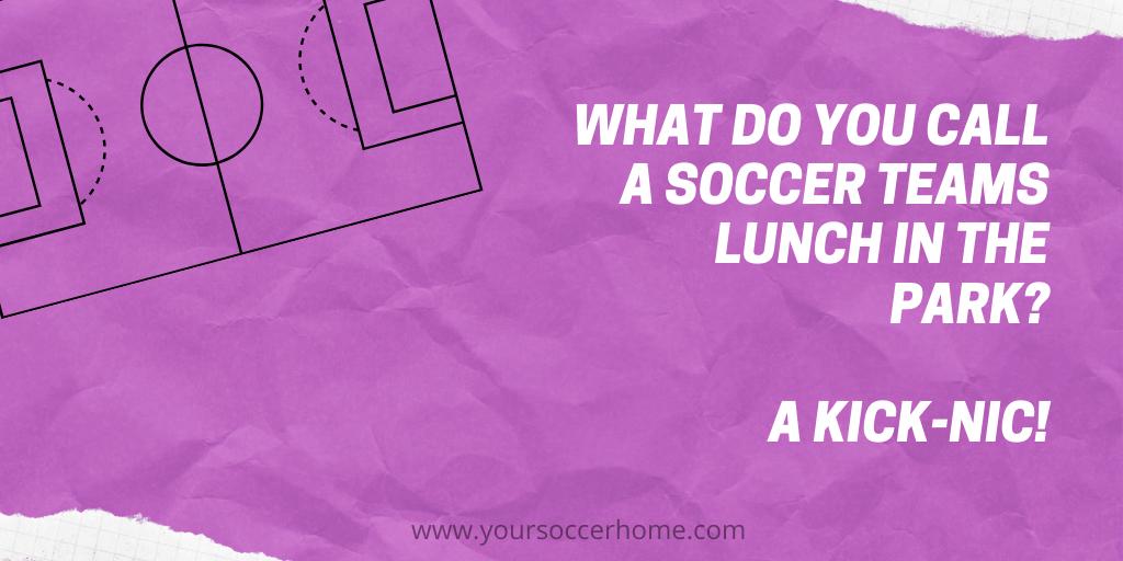 lunch soccer joke