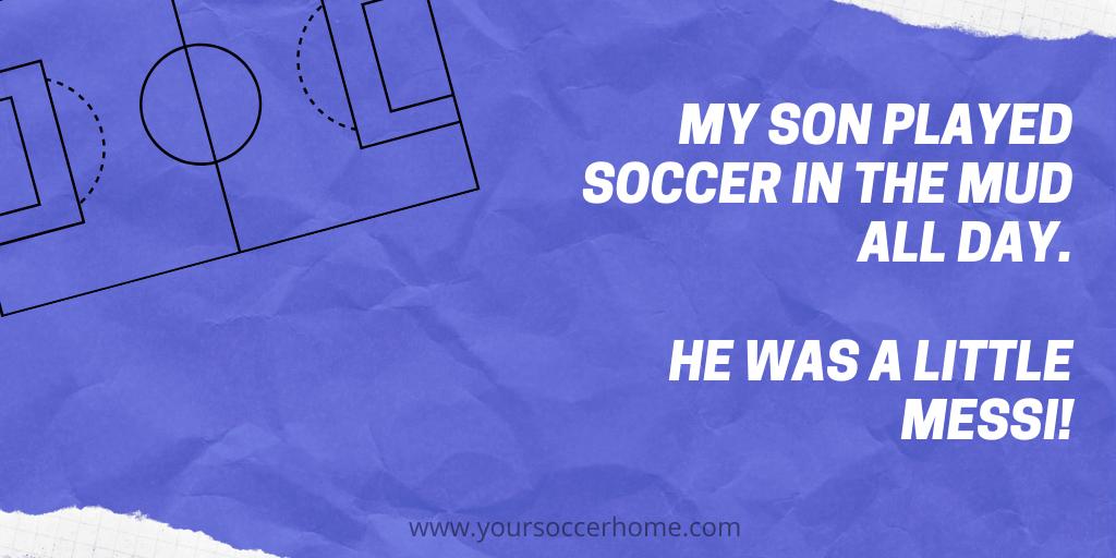 mud soccer joke