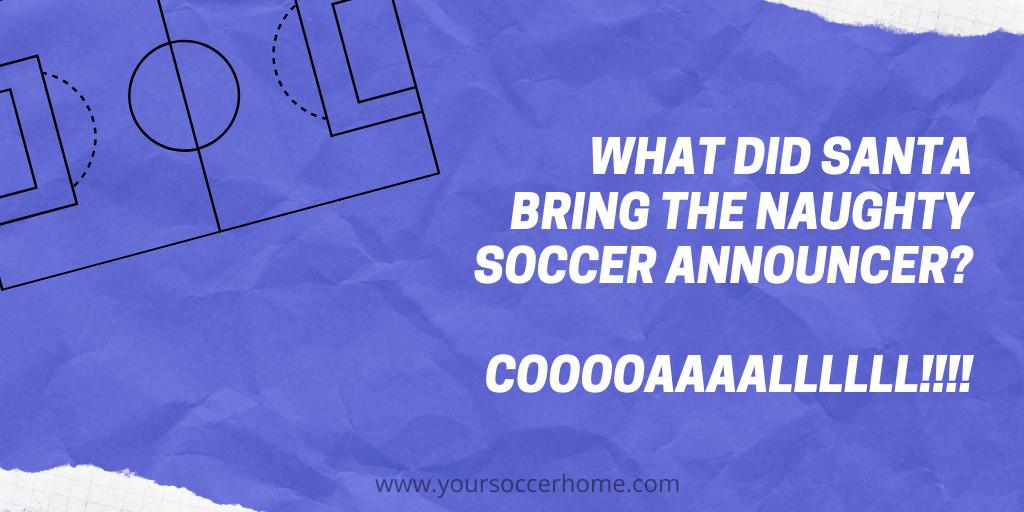 announcer soccer joke
