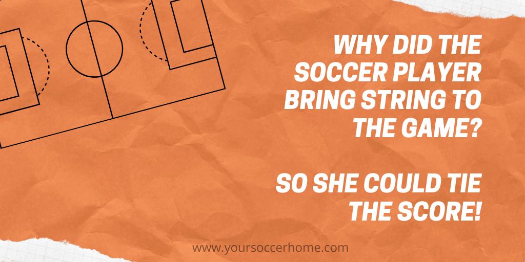 string soccer joke