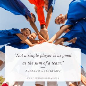 Alfredo Di Stefano short soccer quote