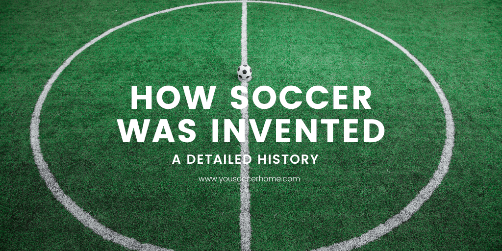 invention of soccer image