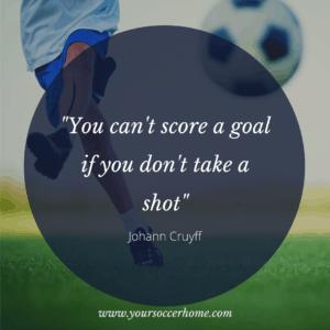 Johann Cruyff - short soccer quote