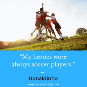Ronaldinho - short soccer quote