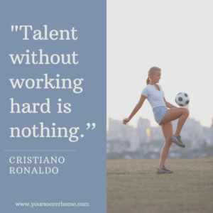 Christiano Ronaldo short soccer quote