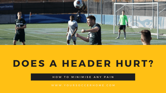 does a soccer header hurt? how to minimize any pain - header image