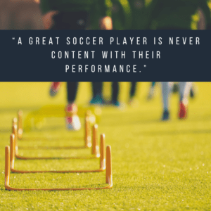 performance short soccer quote