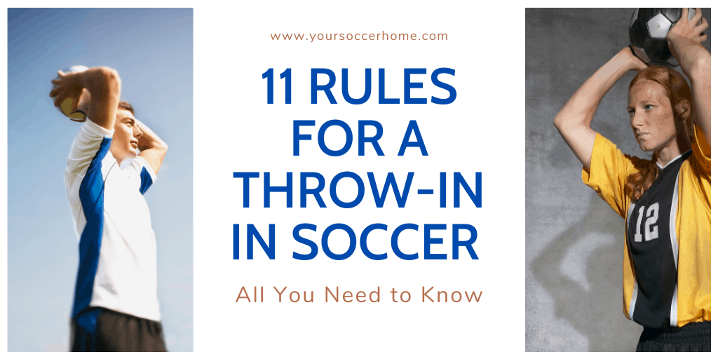 Rules for a throw in in soccer