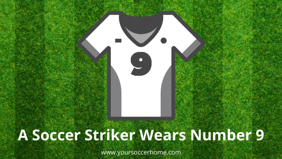 The number a soccer striker wears