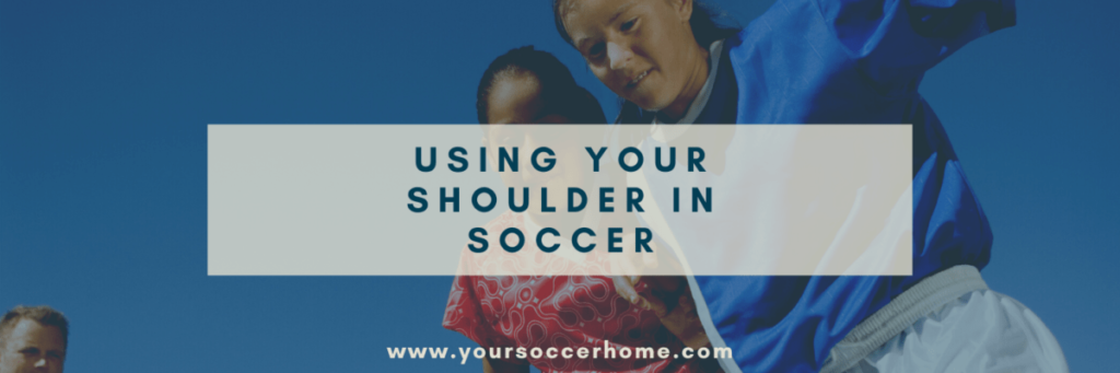 can you use your shoulder in soccer header image