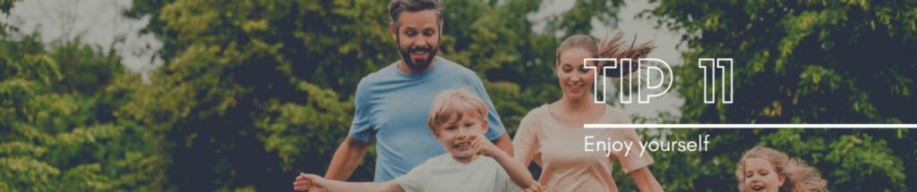 Enjoy yourself as a soccer parent