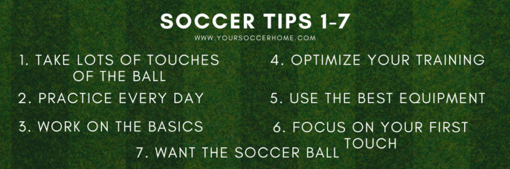 soccer tips 1-7