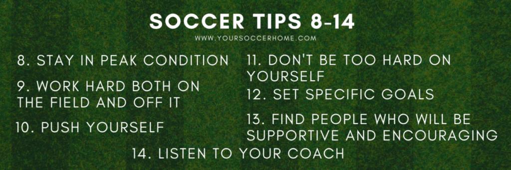 soccer tips 8-14