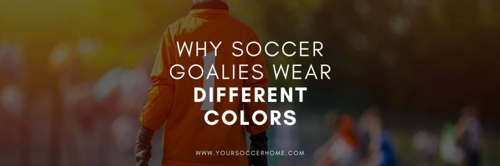 Reason why soccer goalies wear different colors