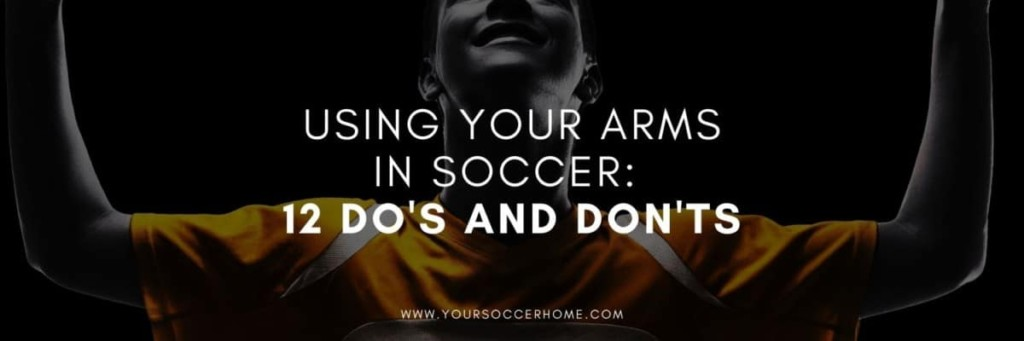 soccer players arms