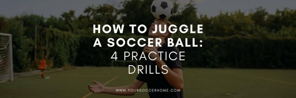 player juggling soccer ball