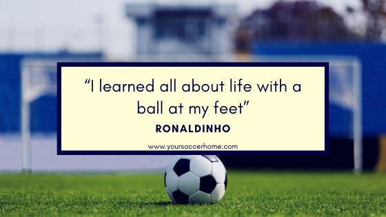 short soccer quote