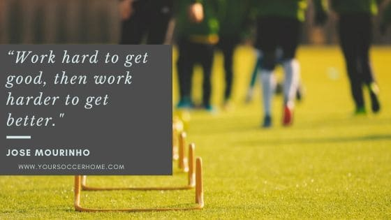 soccer quote about hard work