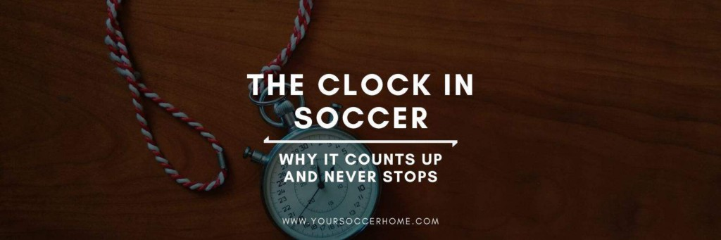 Post header image: title and image of  soccer clock